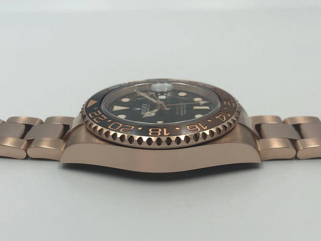 "Rolex GMT Master II ""Root Beer"" Everose 126715 2019 [Preowned]"