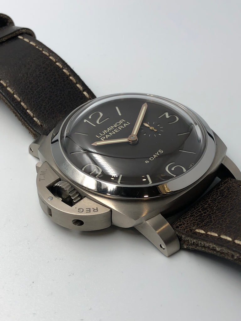 Panerai Luminor 1950 8 Days Left Handed Titanium PAM00368 2012 [Preowned]