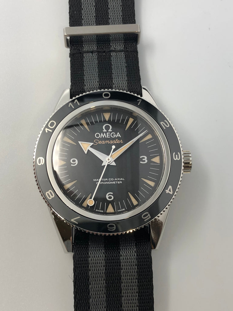 "Omega Seamaster 300 Master Co-Axial ""Spectre"" 41mm 2015 [Preowned]"