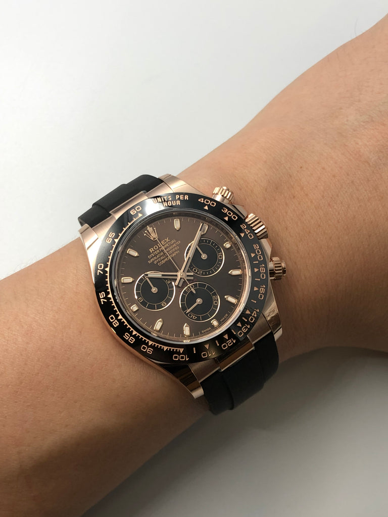 Rolex Cosmograph Daytona Rose Gold on Oysterflex 116515LN <2020>