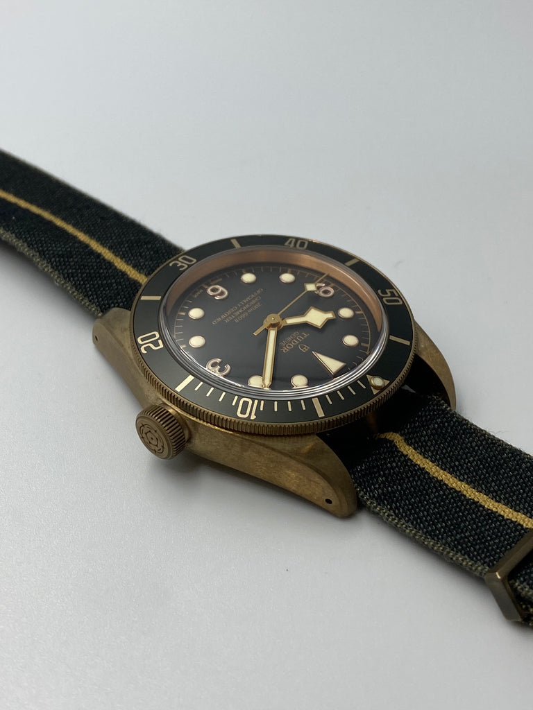 Tudor Black Bay Bronze Grey Edition 79250BA 2019 [Preowned]