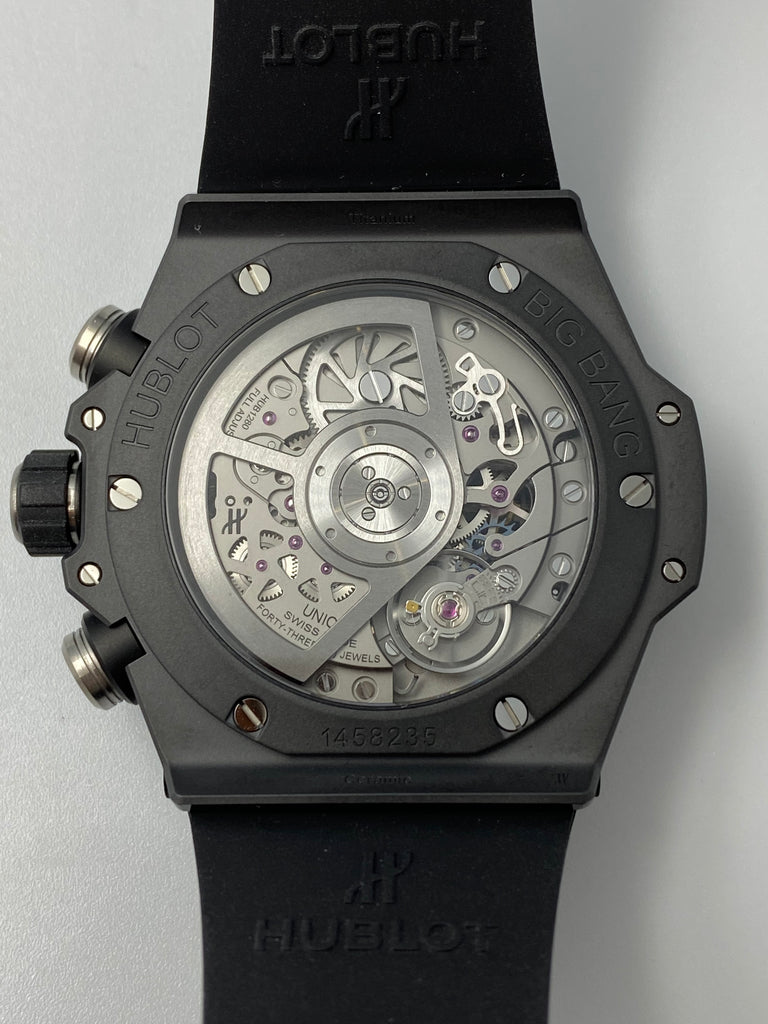 Hublot Big Bang Unico Black Magic 42mm