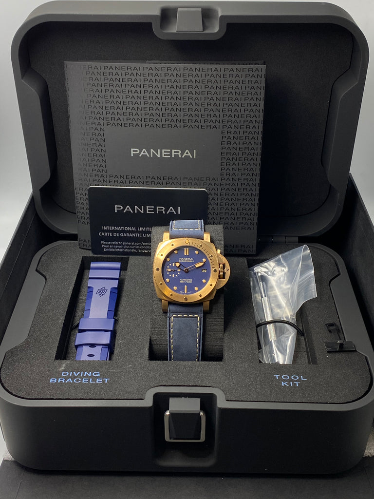 Panerai Submersible 1950 Bronzo Blu Abisso 42mm PAM01074