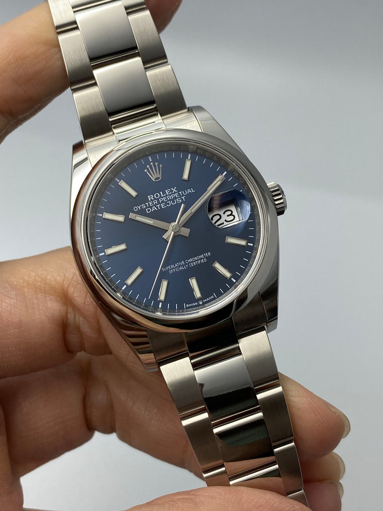 Rolex Datejust 36mm Blue Dial 126200 2020 [Preowned]