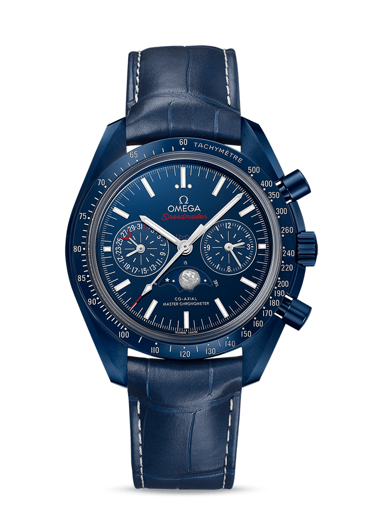 Omega Speedmaster Moonwatch Blue Side of The Moon 304.93.44.52.03.001
