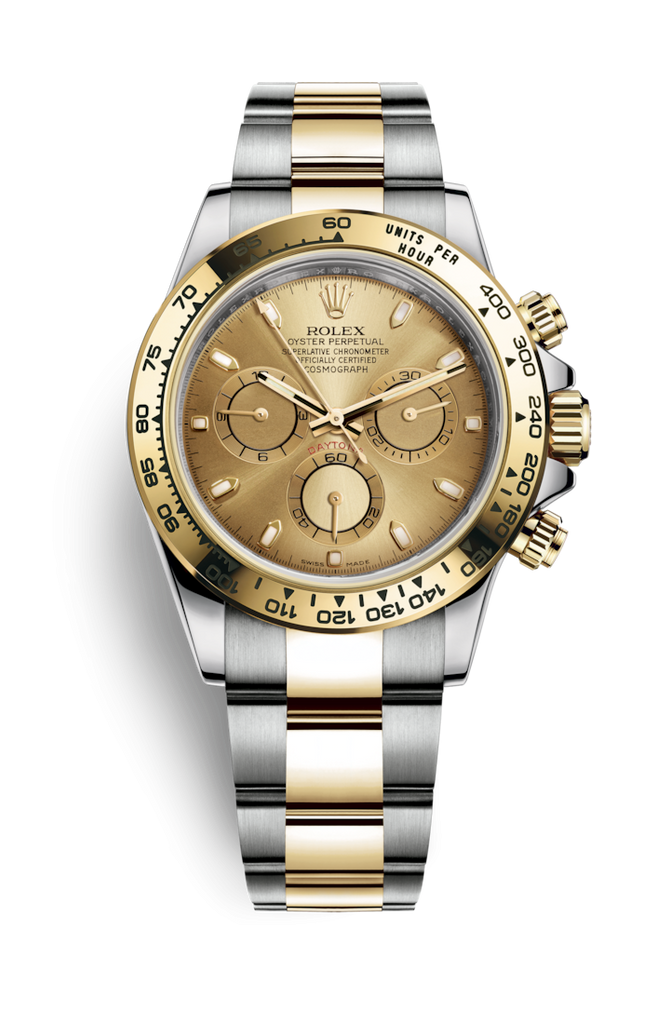 Rolex Cosmograph Daytona Steel Rolesor - Champagne Dial 116503