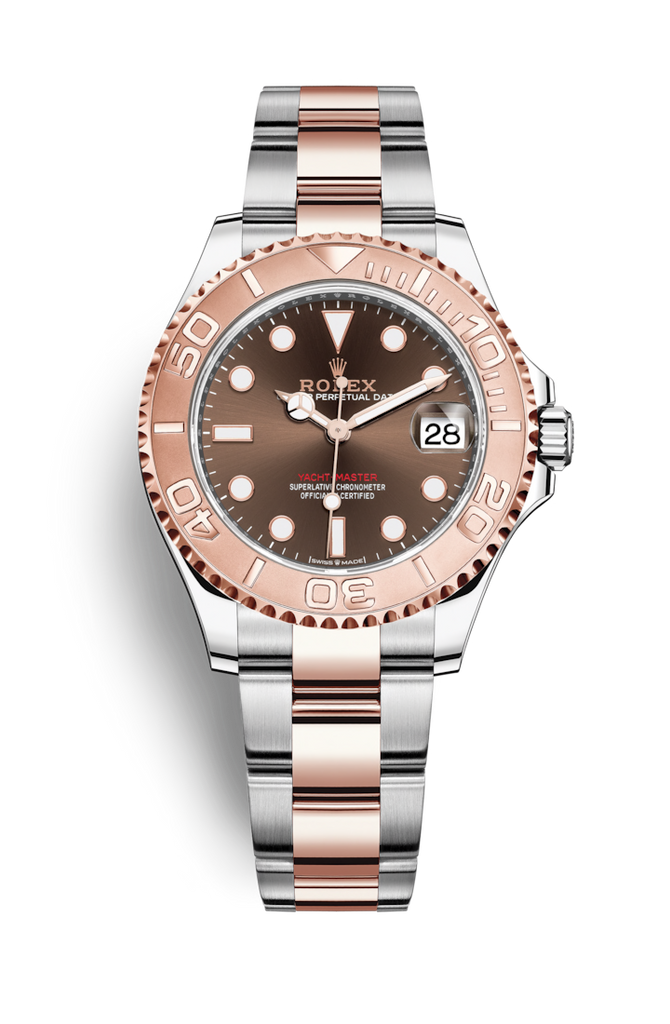 Rolex Yachtmaster Steel Everose 37mm 268621