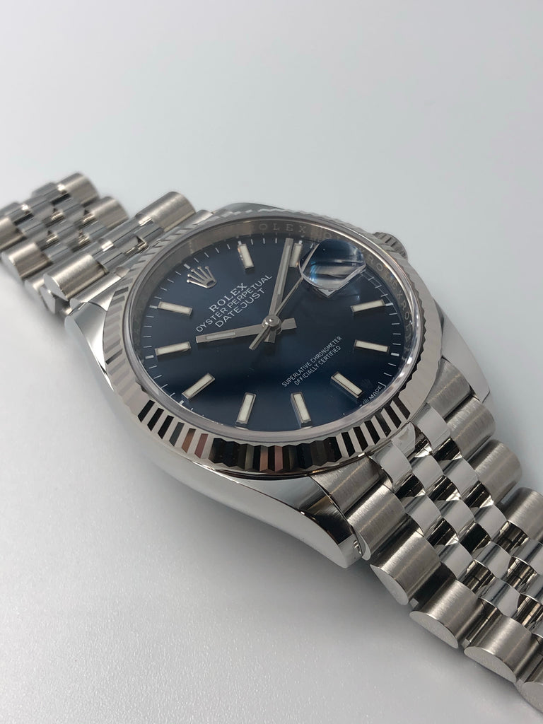 Rolex Datejust 36mm Blue Dial on Jubilee Bracelet 126234
