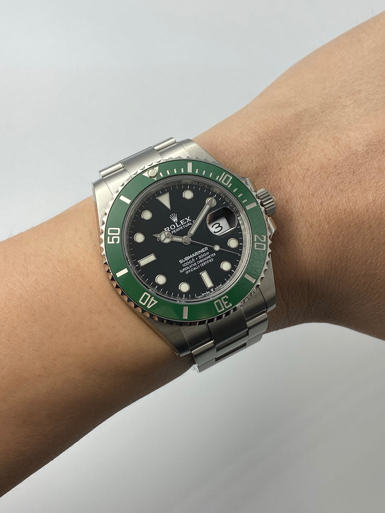 Rolex Submariner Date Green 126610LV