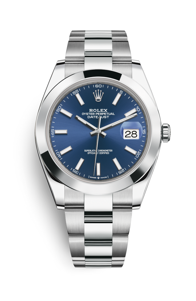 Rolex Datejust 41mm Blue Dial 126300 2018 [Preowned]