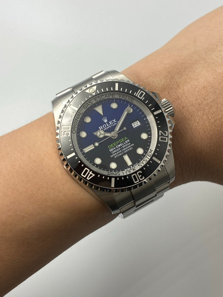 Rolex Deep Sea Dweller D-BLUE 126660