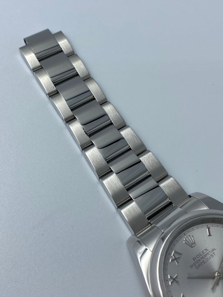 Rolex Datejust 36mm Silver Roman 116200 2008 [Preowned]