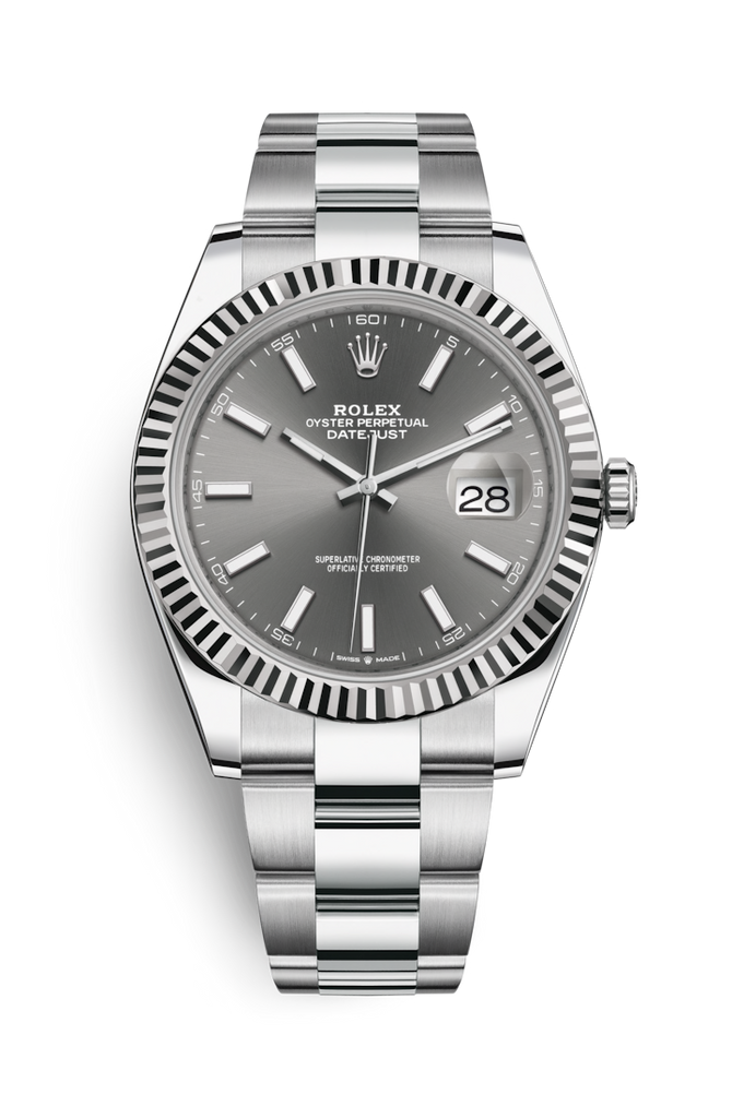 Rolex Datejust 41mm Rhodium Dial 126334