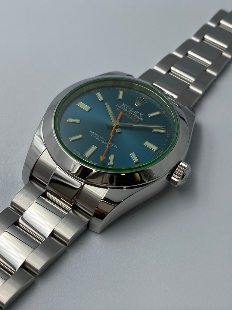 Rolex Milgauss 40mm 116400GV Z-Blue 2015 [Preowned]