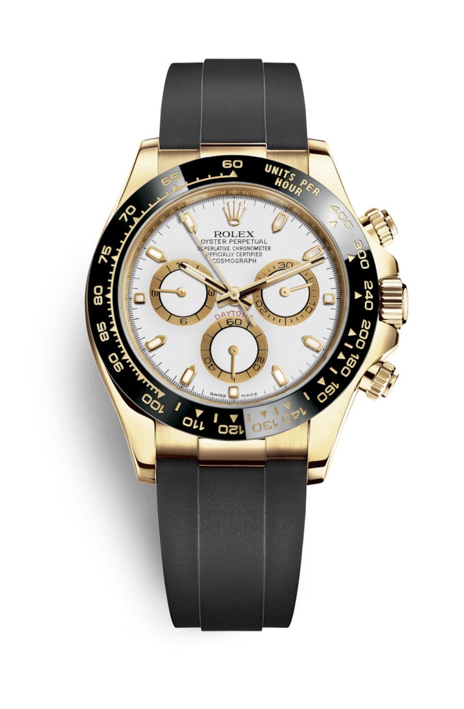 Rolex Cosmograph Daytona Yellow Gold on Oysterflex 116518LN