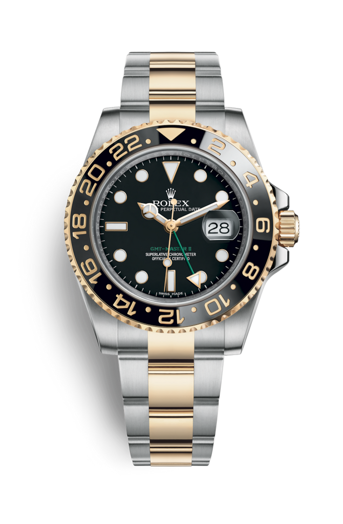 Rolex GMT Master II Rolesor 116713LN Discontinued 2010 [Preowned]
