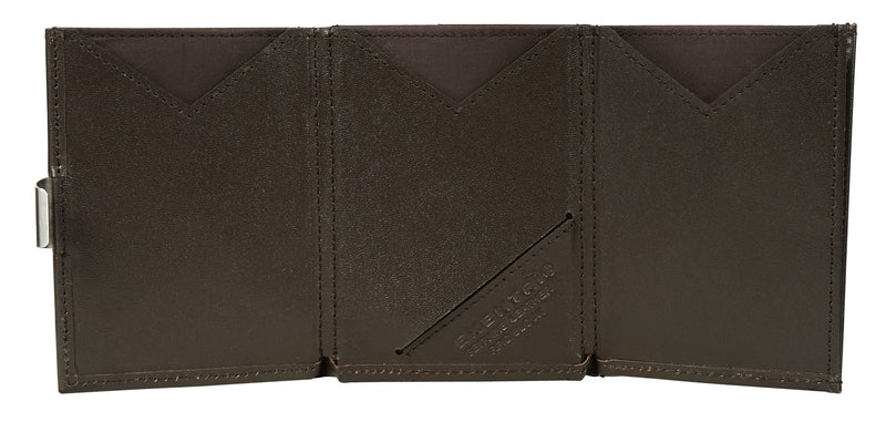 EXENTRI Wallet Brown - mit RFID-Schutz - Exentri Wallets - Smart Wallet
