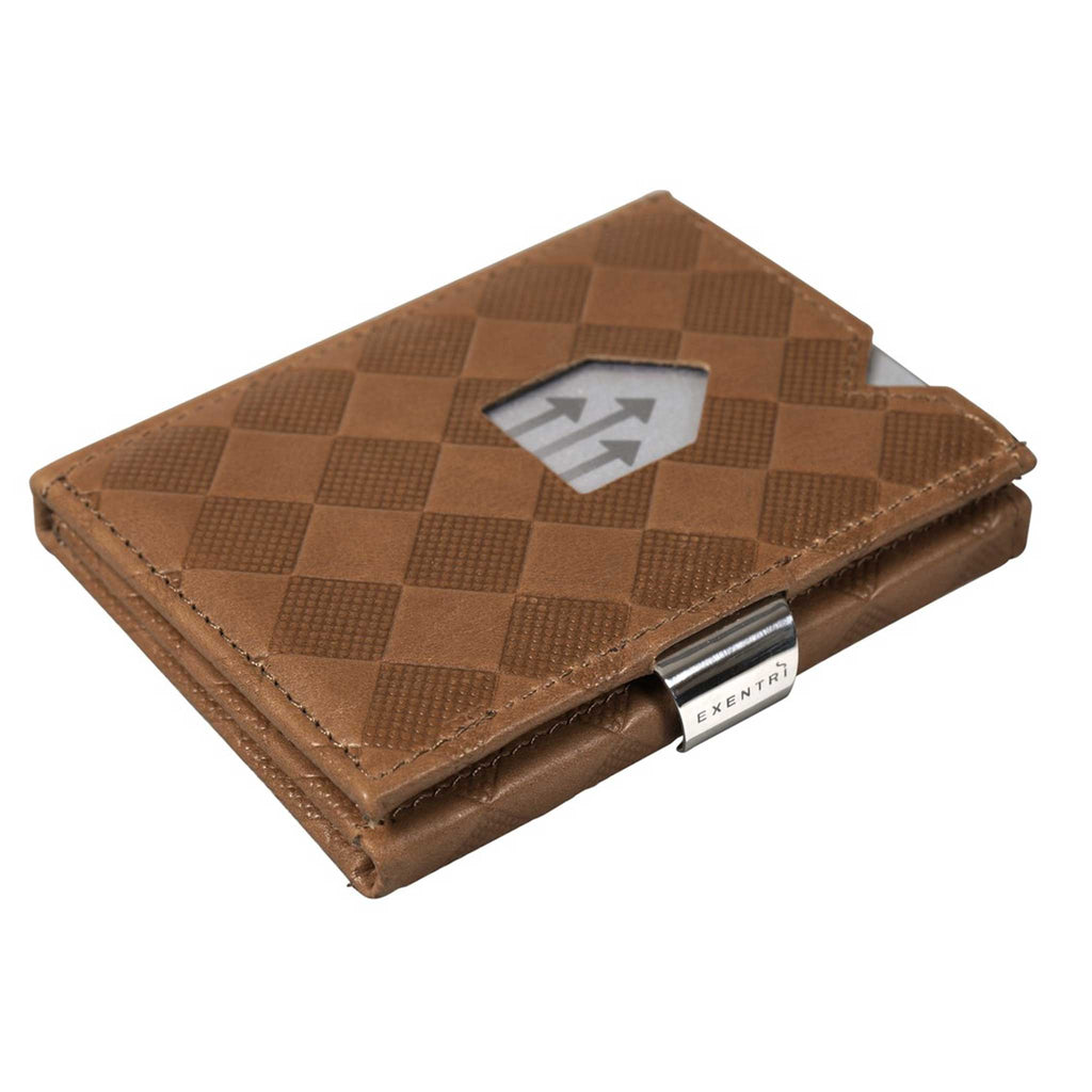 EXENTRI Wallet Sand Chess - mit RFID-Schutz - Exentri Wallets - Smart Wallet