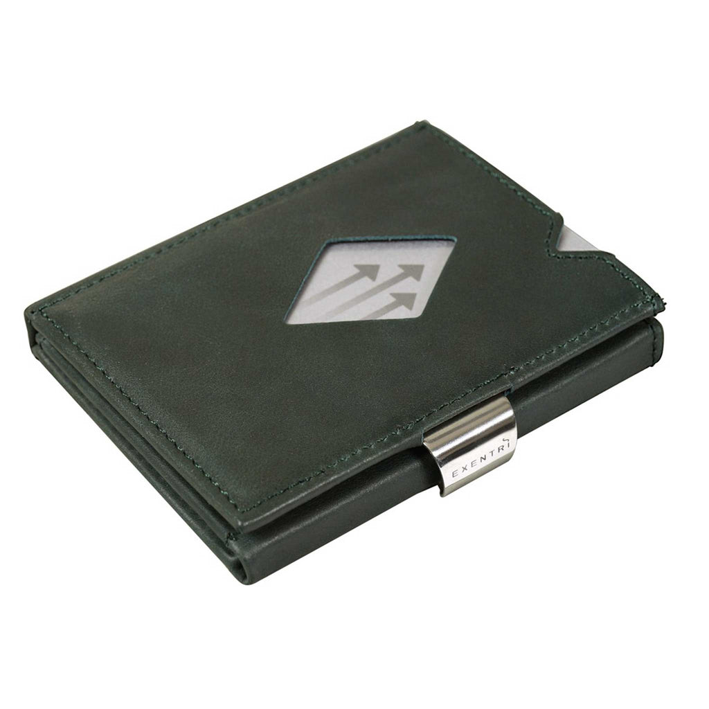 EXENTRI Wallet Emerald Green - mit RFID Schutz - Exentri Wallets - Smart Wallet