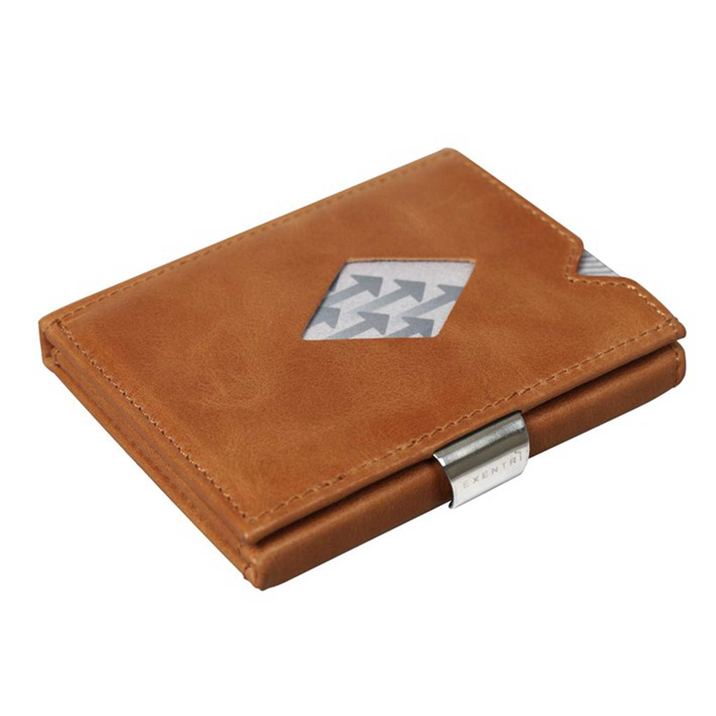 EXENTRI Wallet Cognac - Exentri Wallets - Smart Wallet