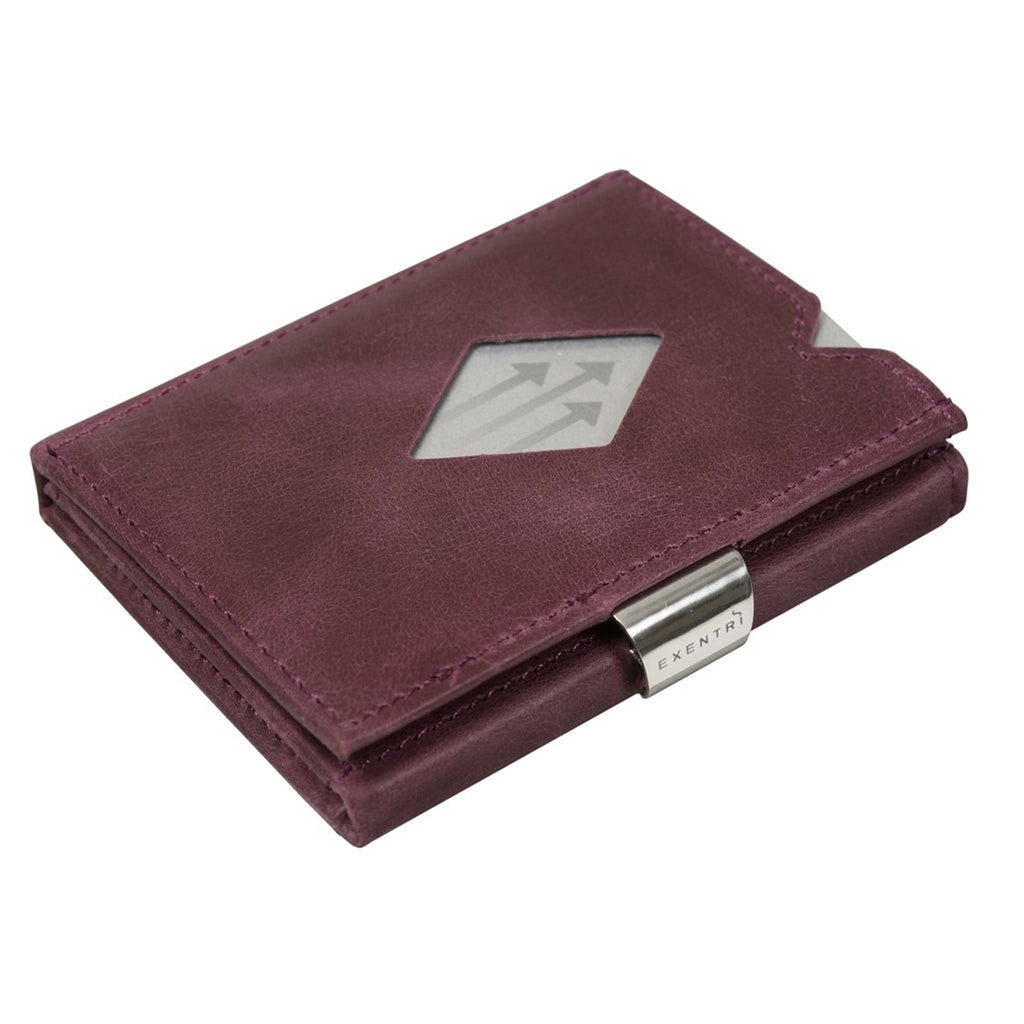 EXENTRI Wallet Purple - mit RFID-Schutz - Exentri Wallets - Smart Wallet