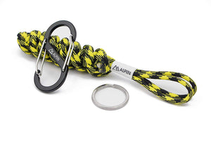 DNA Paracord Keychain (Bumble Bee)