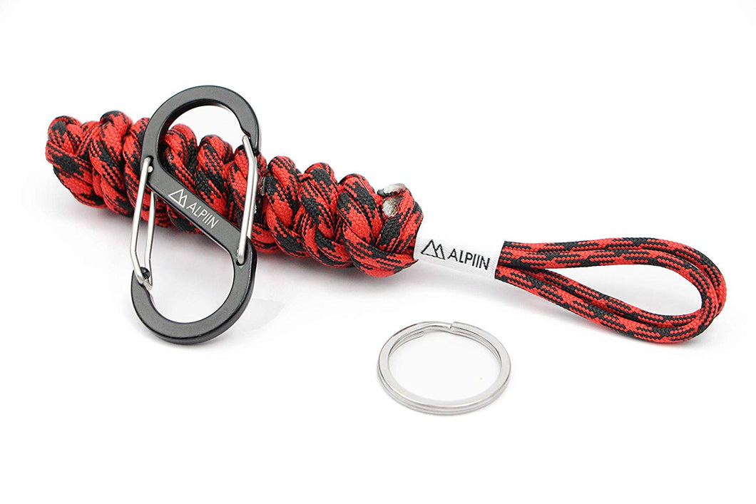DNA Paracord Keychain (Lumberjack)
