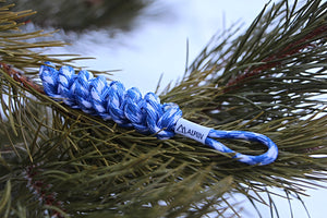 DNA Paracord Keychain (Royal)