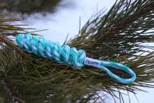 Load image into Gallery viewer, DNA Paracord Keychain (Sea Breeze)