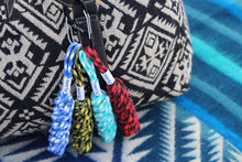 Load image into Gallery viewer, DNA Paracord Keychain (Royal)