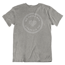Load image into Gallery viewer, WHW Lifestyle Tee | White on Heather Athletic