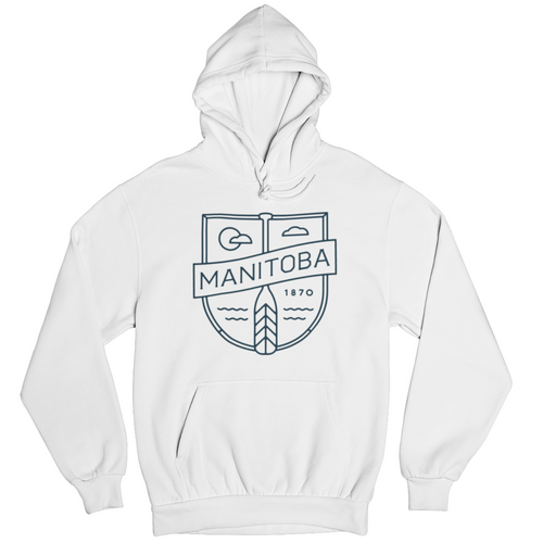 MB Cottage Hoodie | Navy on White