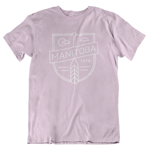 MB Cottage Tee | White on Pink
