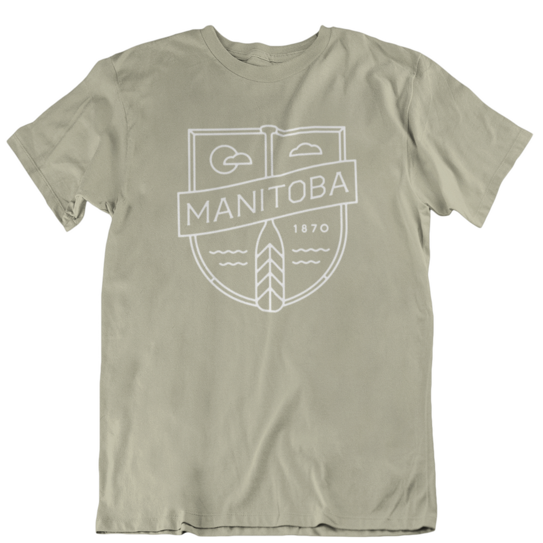 MB Cottage Tee | White on Sand