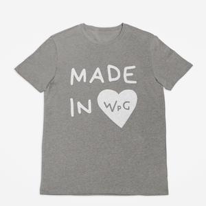 Made in WPG Toddler Tee | Athletic Grey