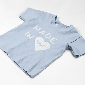 Made in WPG Toddler Tee | Baby Blue