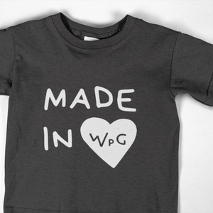 Made in WPG Youth Tee | Black