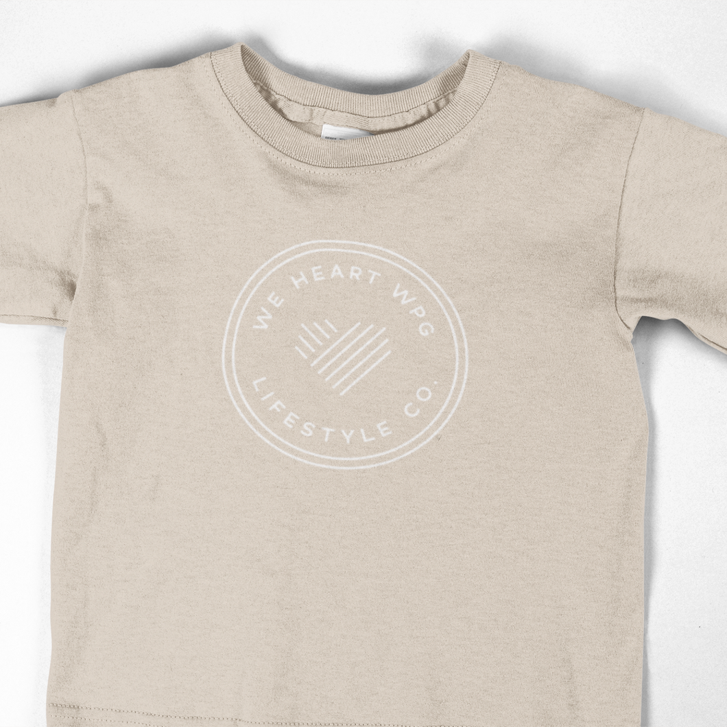 WHW Lifestyle Youth Tee | Sand