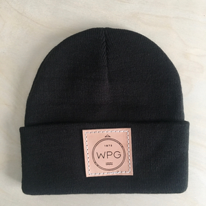 WPG Compass Toque | Natural on Black