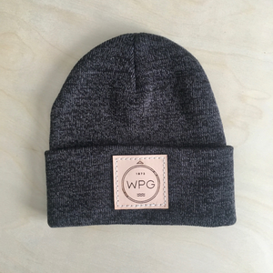 WPG Compass Toque | Natural on Charcoal