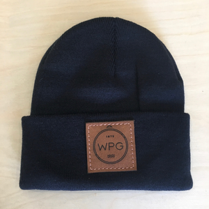 WPG Compass Toque | Chestnut on Navy