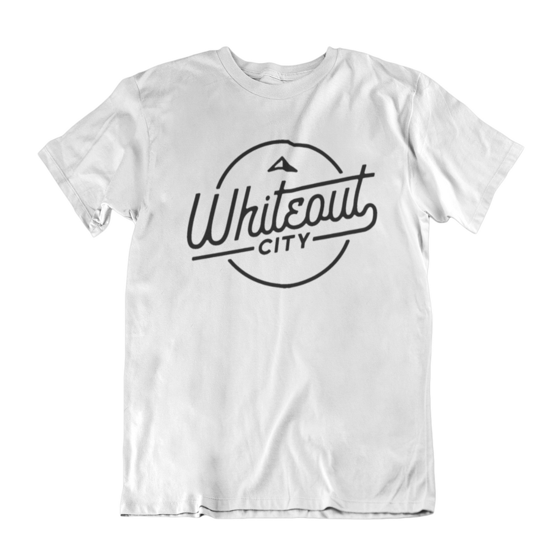 Whiteout City Classic Tee | Navy on White