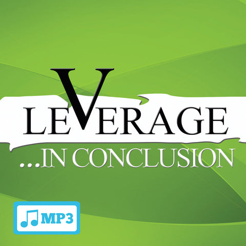 Leverage...in Conclusion - 12/20/15