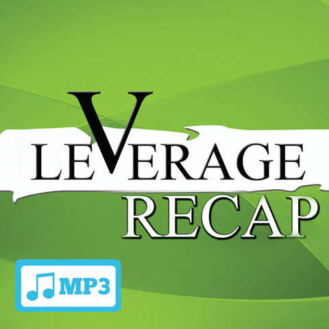 Leverage Recap Part 2 - 9/27/15