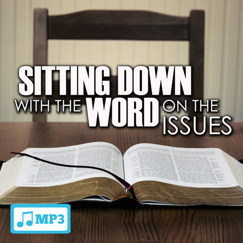 Sitting Down With The Word... - 7/17/16