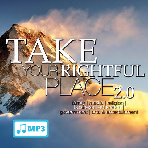 Take Your Rightful Place 2.0 - Part 1 - 9/2/15