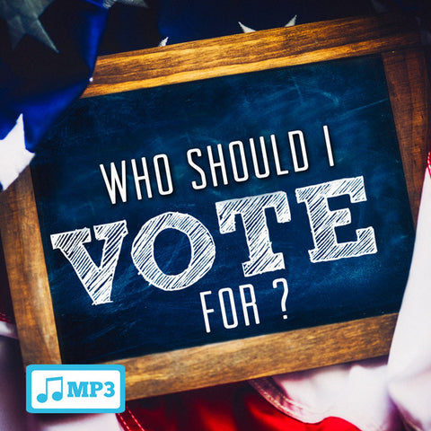 Who Should I Vote For? - 10/30/16