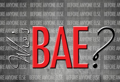 Who's BAE? MP3 Series