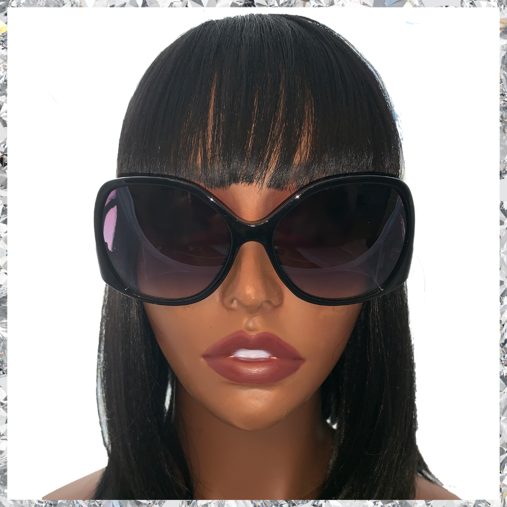 Shady B***h - Black & Gold Frames with Black Lenses - Shady Mama