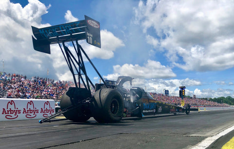 Scott Palmer's Magic Dry Absorbent Top Fuel team extends encouraging streak
